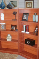 at ajax we offer two distinct types of bookcases for businesses in