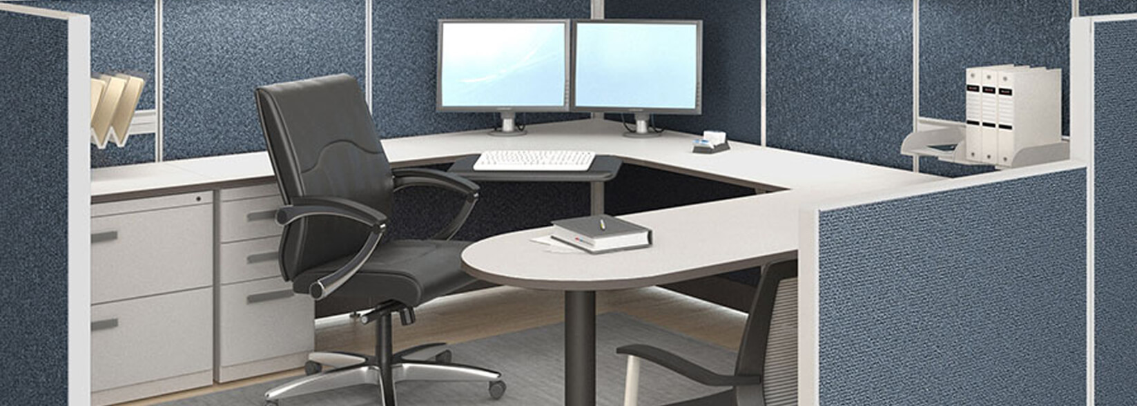 Workstations cubicles office furniture cheap call ajax 727 for Consignment furniture clearwater