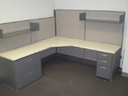 Used Steelcase cubicles