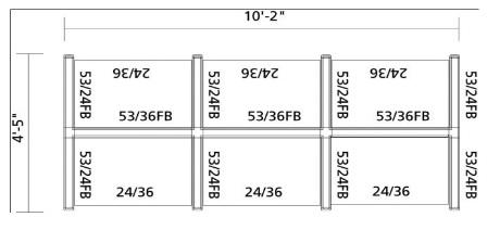 3x3x53 Six Pack